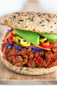 Sloppy Joes vegetarianos